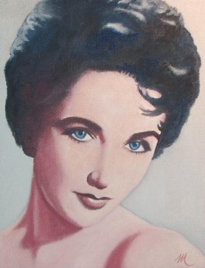 Elizabeth Taylor par mario